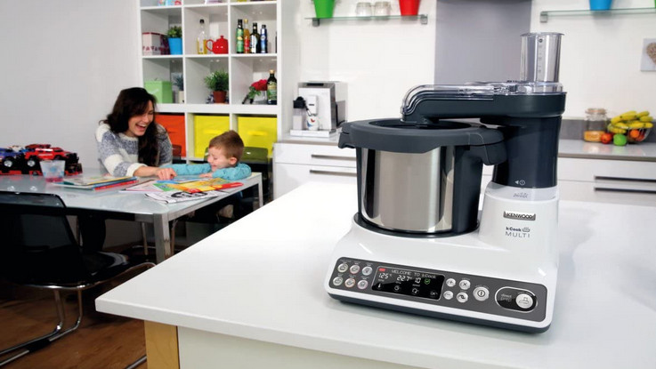 Test robot cuiseur multifonction Kenwood kCook Multi CCL401WH